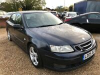 2005 SAAB 93 9-3 TID 1.9 VECTOR SIX SPEED SALOON BLUE