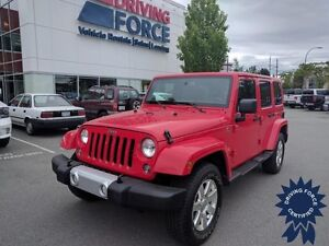 2015 Jeep Wrangler Unlimited Sahara 4x4 - 25,973 KMs, 3.6L V6