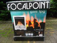 Unused & Boxed Gas / LPG Fire Insert (Pebble Effect)