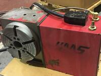 Haas cnc mill 4th axis rotory table