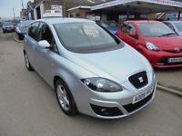 2009 09 seat altea 1.6 emocion, 1 local lady owner, full service history. 30 + cars in stock.