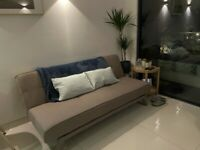 Grey Made sofa bed