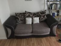 DFS sofa bed and cuddle chair