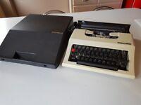 VINTAGE TEXET 2500 PORTABLE TYPEWRITER FAB DECOR HOME OFFICE STUDY DISPLAY DESKTOP VGWO
