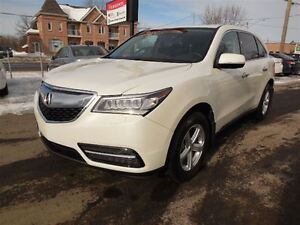 2016 Acura MDX Navigation Package Tecknologie Pack.