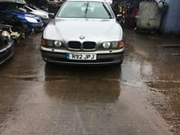 1997 Bmw 528i Se Auto 4dr Saloon 2.8L Petrol Silver BREAKING FOR SPARES