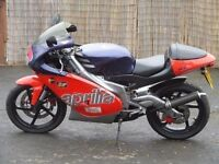 Aprilia RS 125 Racing Full Power Rossi Replica Original Low Mileage Example Delivery Available 250