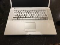 PowerBook G4 for spares . Hard drive removed- not working