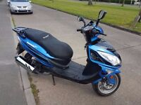 LEXMOTO FMS 125cc Learner Scooter motorcycle 125 2016 785 mls Vespa Gilera Honda Yamaha but cheaper