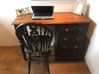 Stunning Solid Pine Desk And Chair