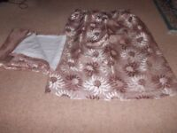 """Curtains 53"""" long x 44 """" wide in very good condition"""