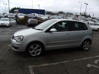 2008 08 VOLKSWAGEN POLO 1.8 GTI 5D 148 BHP **** GUARANTEED FINANCE **** PART EX WELCOME ****