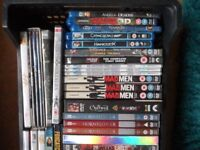 Over 100 dvds ,Blu Rays,Box Sets and Films