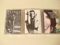 3 PRINCE TAPES - PRINCE GRAFFITI BRIDGE : PRINCE COME 1958-1993 : PRINCE & THE REVOLUTION PARADE