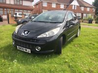 Peugoet 207 sports diesel 2008 30 tAx hpi Clear
