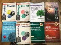 GCSE REVISION BOOKS BUNDLE