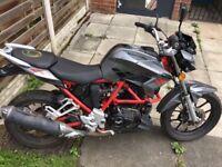 Venom se lexmoto 125 cc £560 motorbike 125 cc