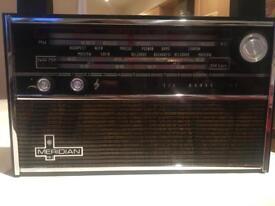 Vintage unused Vega Meridian portable radio, made USSR