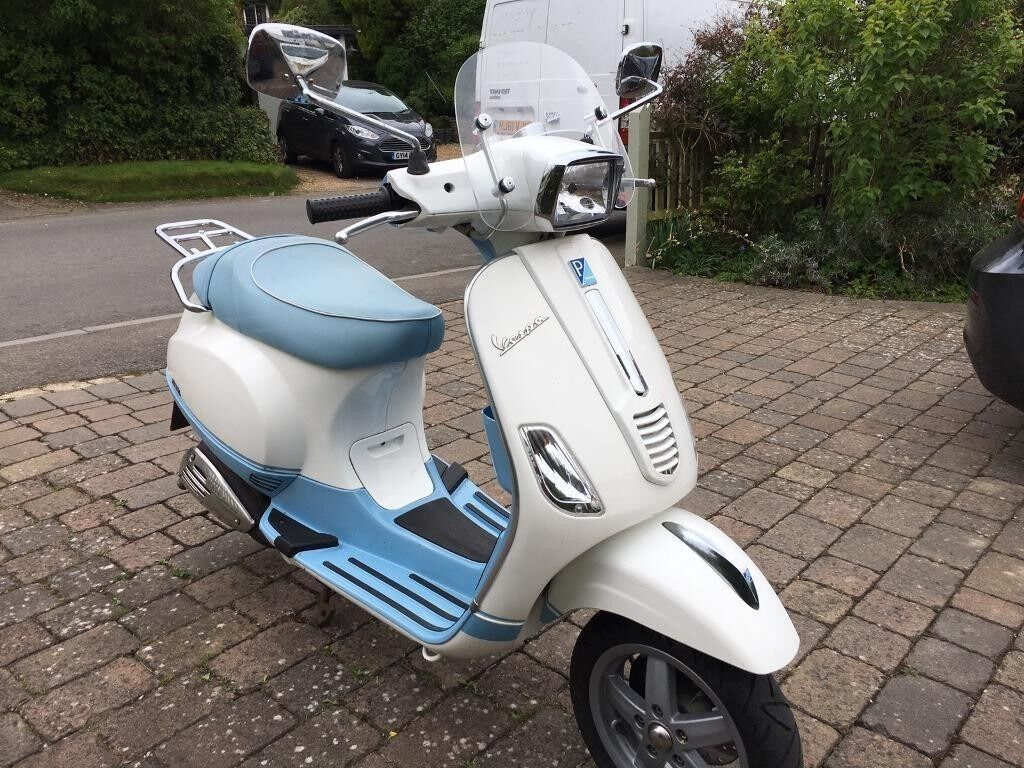 PIAGGIO VESPA S50 limited edition only 5k miles 2010 hpi clear ...