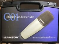 Samson C01 Studio Condenser Mic (x4 available)