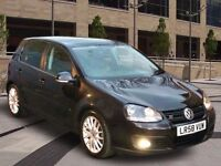 2008 Volkswagen VW Golf GT Black TDi 2.0 Diesel Hatchback *Bargain, quick sale*