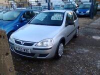 2004 Vauxhall corsa 1.2 petrol 47.000 miles one owner from new full service history full MOT 3 door
