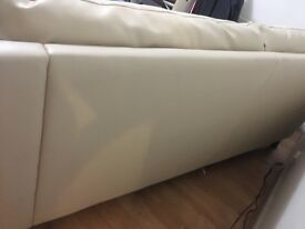 3 seat beige Sofa