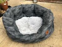 Pet face large dog bed