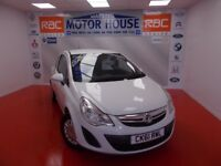 Vauxhall Corsa S ECOFLEX (£30.00 ROAD TAX)FREE MOT'S AS LONG AS YOU OWN THE CAR!!! (white) 2012