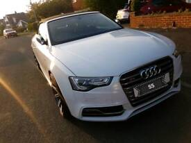 Audi s5 convertible Quattro white