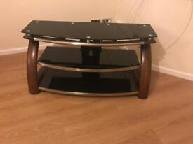 TV stand with column mount unit for sale