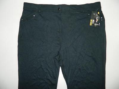 Misty Harbor #2569 Style /& Co Plus Size Tummy-Control Cuffed Capri Jeans 24W