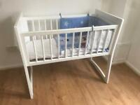 Baby bed/rocking crib