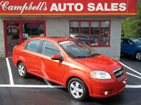2009 Chevrolet Aveo LT SUNROOF!! AUTO!! CRUISE!! PW PL INFERNO O