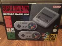 Nintendo Snes Mini Classic Edition Brand New