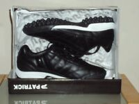 Astro turf trainers Size 13 Black - make = Patrick; new in box.