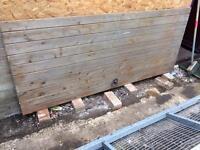 Wooden t&g gate