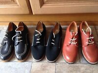 Mens 'Gram' Shoes, size 41, Three pairs £30, or one pair £15