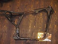 harley davidson bobber, chopper, custom. frame with v5c