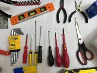 Home Handyman's Box of Tools