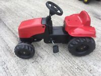 Rolly Massey Ferguson ride-on Tractor