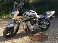 Yamaha fazer 1000, 2002, 10500 miles