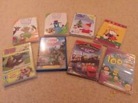 selection of childrens DVDs