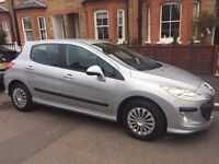 Peugeot 308 in Metallic Silver, 1598cc Petrol Engine - In good condition - Only 65k on the clock!