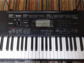Casio CTK 3000 61 key Electronic Keyboard.