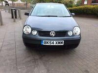 VW POLO 2004 DIESEL 5 DOOR £950