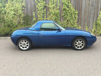 FIAT BARCHETTA + 1.8 SPORT + 1998 + WITH HARD TOP + LEFT HAND DRIVE