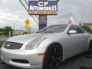 2004 Infiniti G35 Coupe CUIR