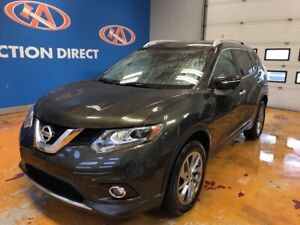 2015 Nissan Rogue SL AWD/HEATED LEATHER/ NAVI/ PANO ROOF!