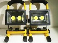 30W LED Portable Rechargeable Garage Work Light Camping Outdoor Emergency Brand New